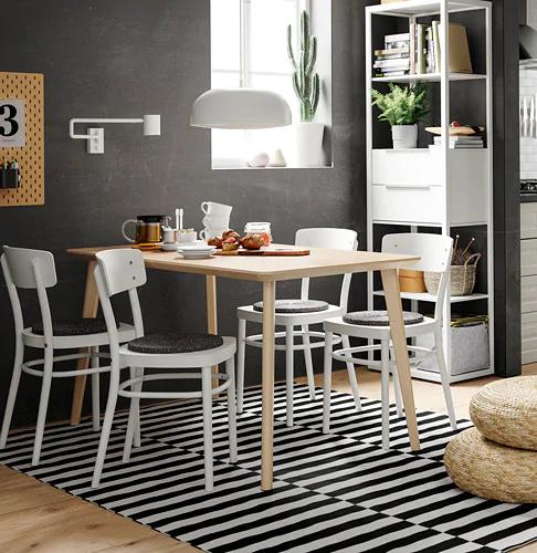 IKEA LISABO ASH Veneer Table images