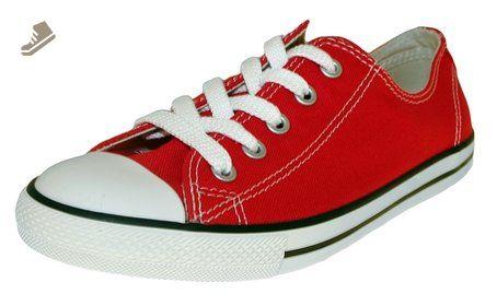 b0043ea57b3eed Ladies Converse Dainty Low 5300 Red 8 - Converse chucks for women ( Amazon  Partner