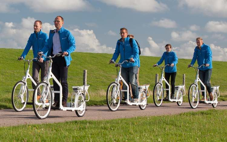 Take Your Treadmill Outdoors With This Walking Electric Bike