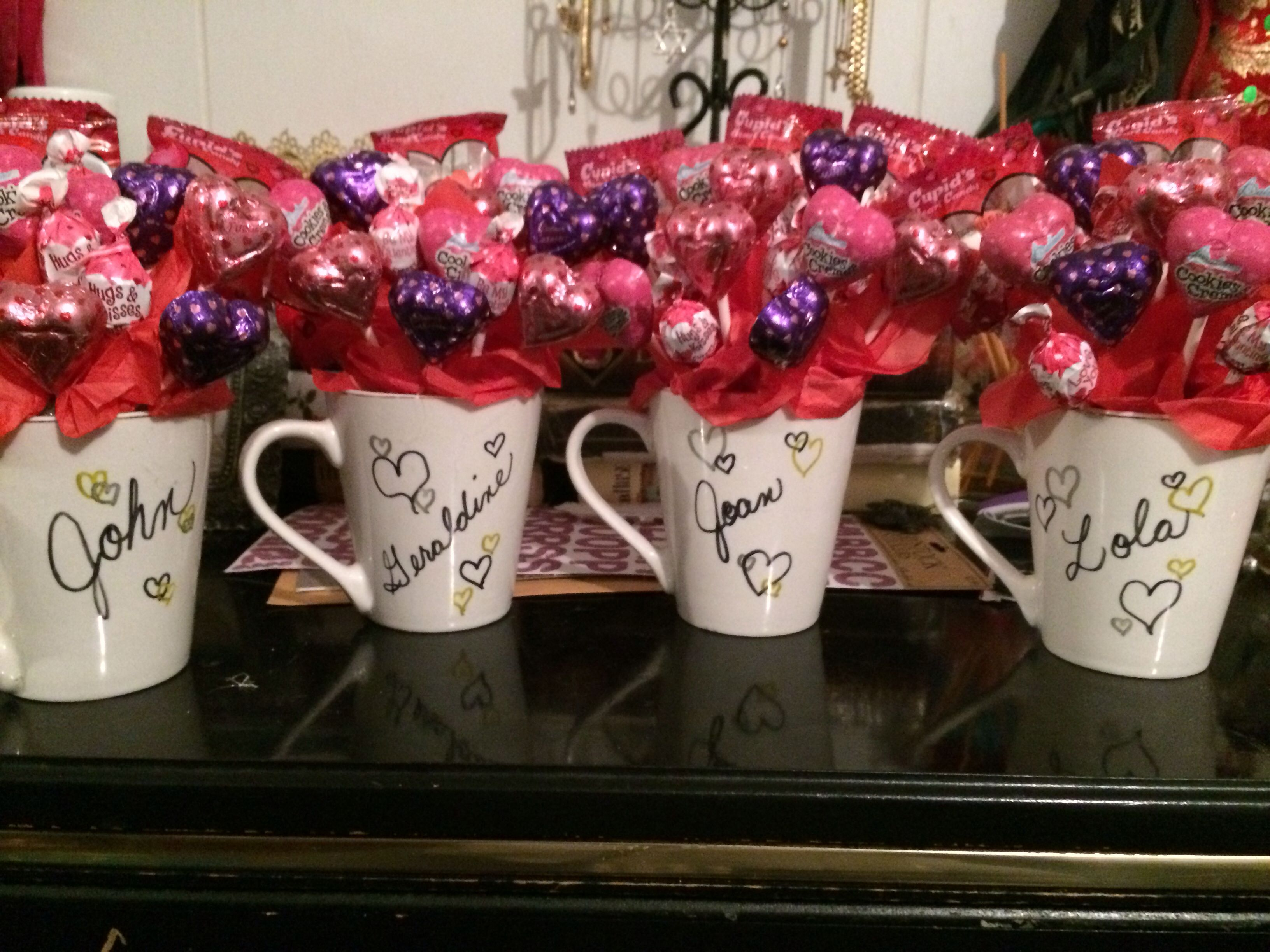 Sharpie Mugs For Coworkers On Valentine's Day