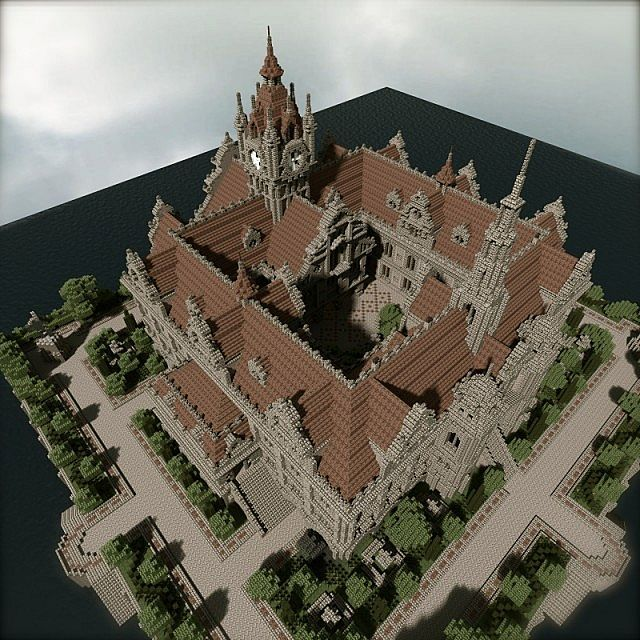 Renaissance Palace Minecraft Building Ideas 3