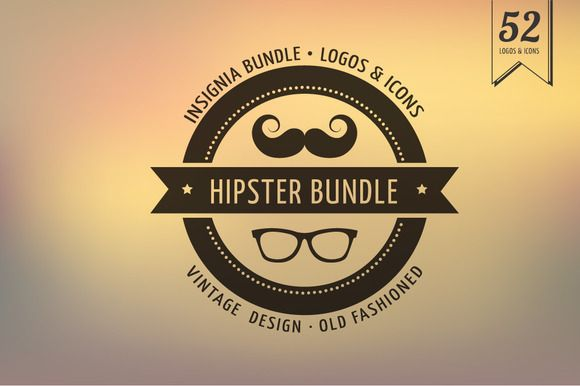 Hipster Icons / Badge / Insignia | Logos, Creative and Icons