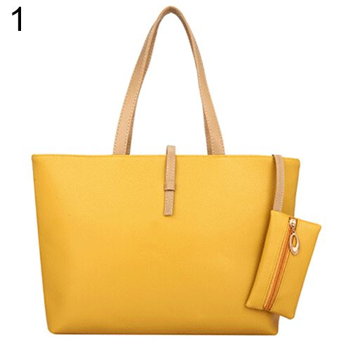c74bc78e91 American Style Women s Big Shoulder Bag Faux Leather Handbag Buckle Clutch  Messenger Purse-in Top-Handle Bags from Luggage   Bags on Aliexpress.com ...