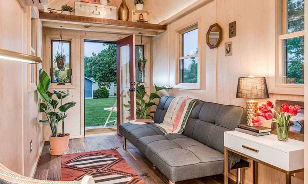 Living Room - Riverside by New Frontier Tiny Homes