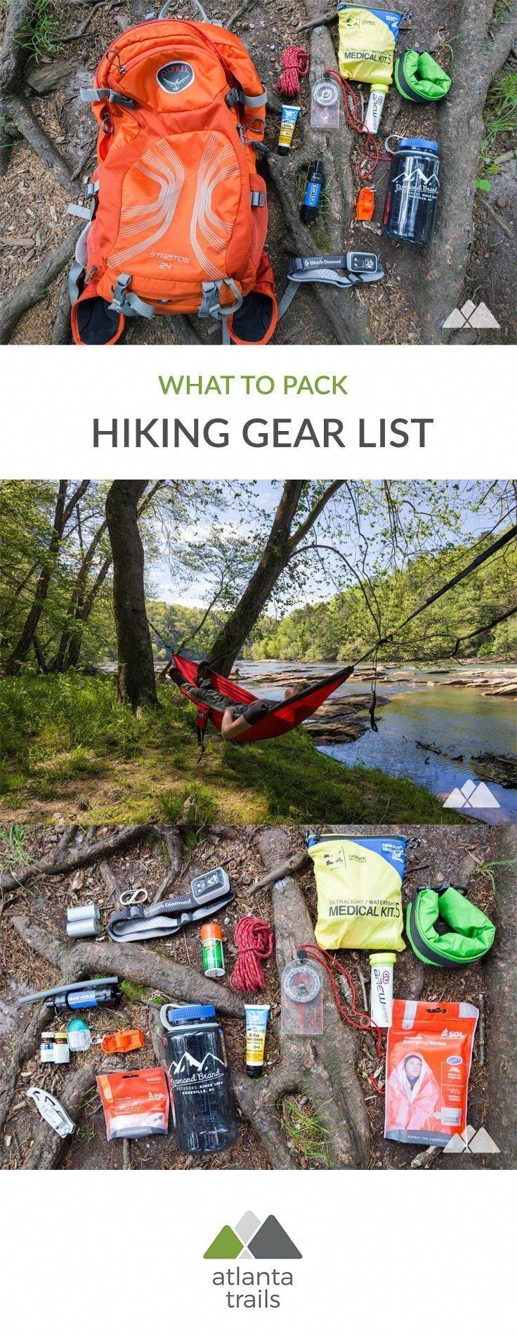 Photo of Hiking Gear List – Atlanta Trails