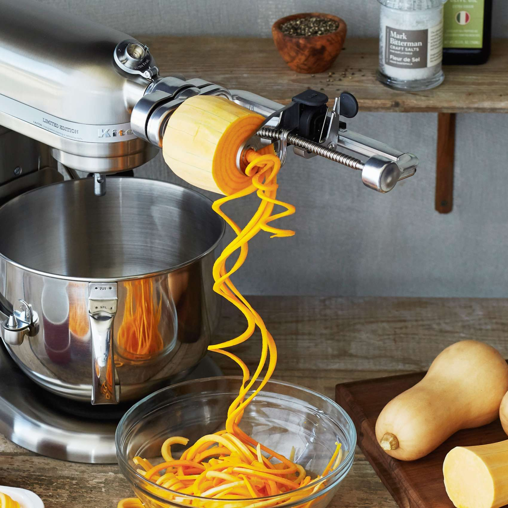 Kitchenaid 174 Spiralizer Attachment Kitchen Aid Recipes