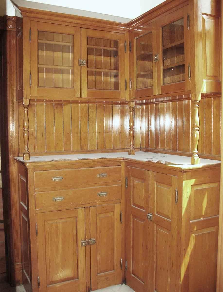 Turn Of The Century Maple Kitchen Pantry Corner Cabinetry Maple Kitchen Cabinets Maple Kitchen Wood Corner Cabinet