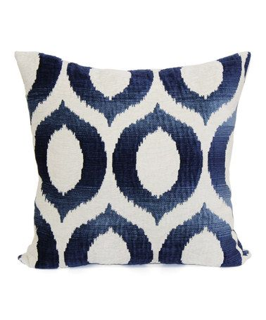 Look At This Zulilyfind Indigo Olson Throw Pillow By Brentwood Cool Brentwood Originals Decorative Pillows And Chair Pads