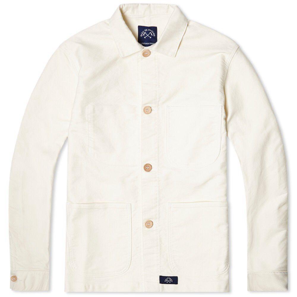 Bleu de Paname Counter Jacket Ecru