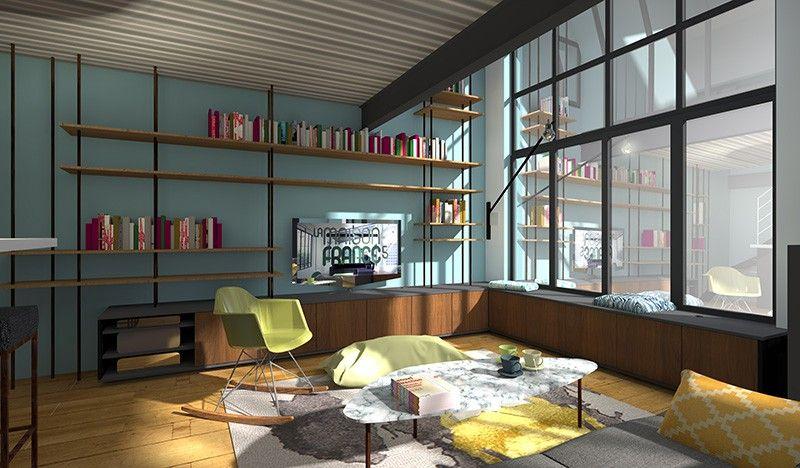 changer am nager un salon organisation home rangement pinterest salon maison france et. Black Bedroom Furniture Sets. Home Design Ideas