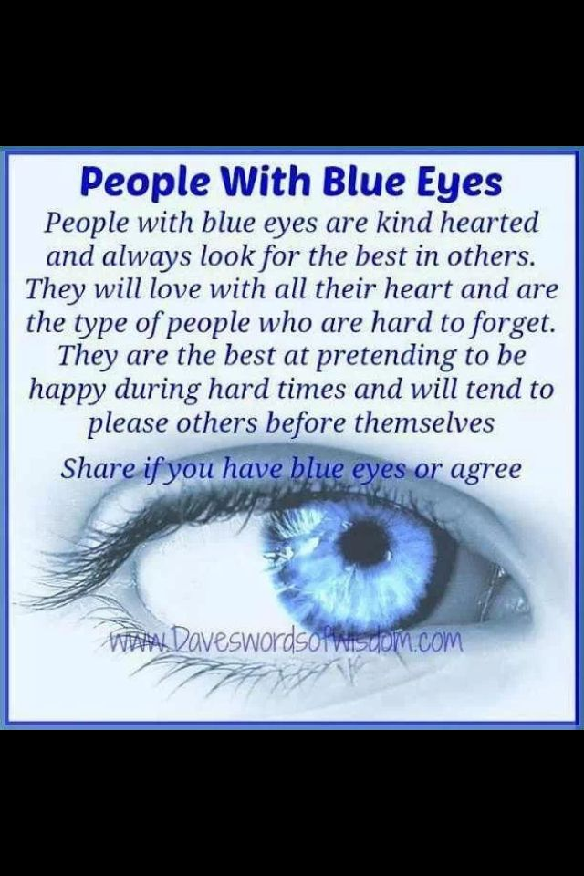Pin By Genevieve Jackson On Quotes Blue Eye Facts Blue Eye Quotes People With Blue Eyes