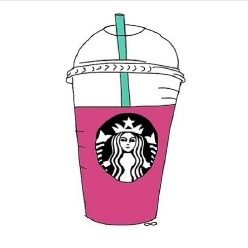 Cute Starbucks Drawing Tumblr