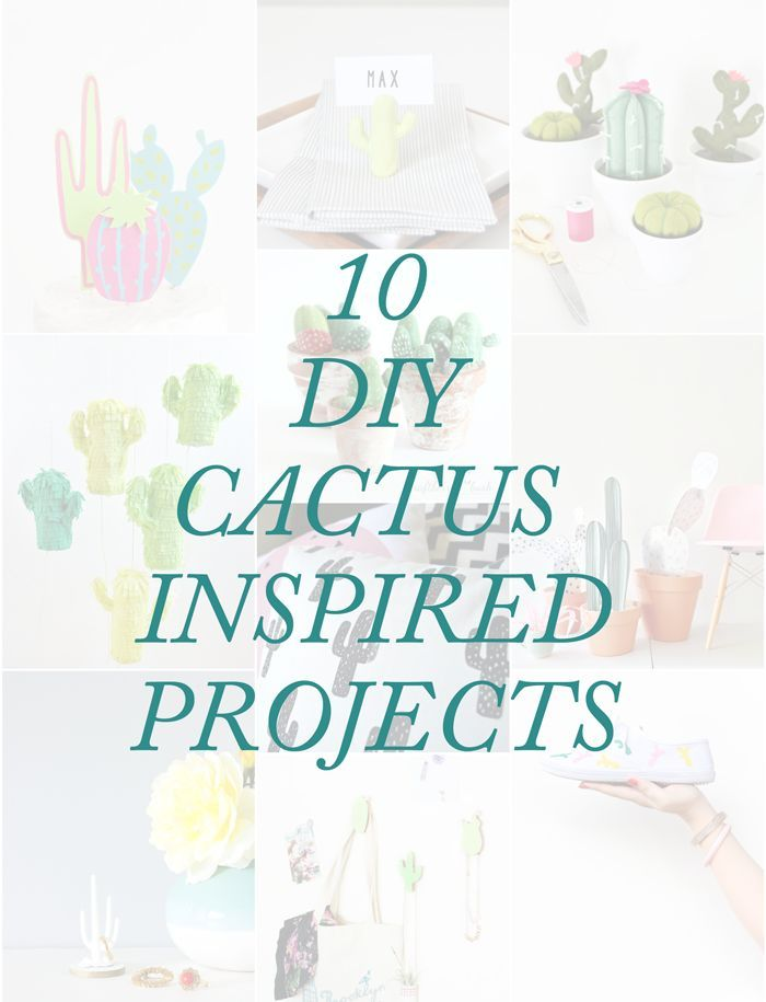 10 DIY Cactus-Inspired Projects
