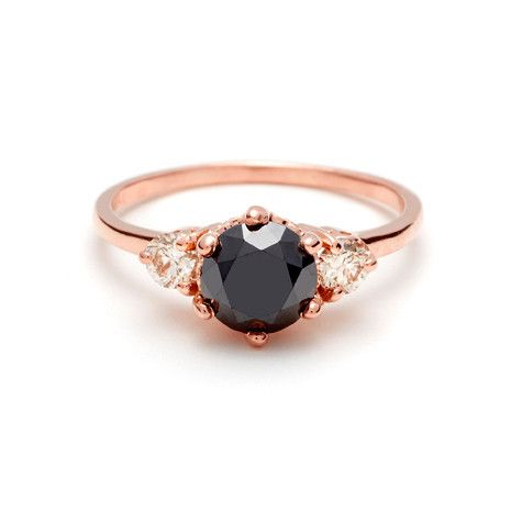 engagement wedding piece stone queen rhodium gold women plated sterling rings black item silver luxury
