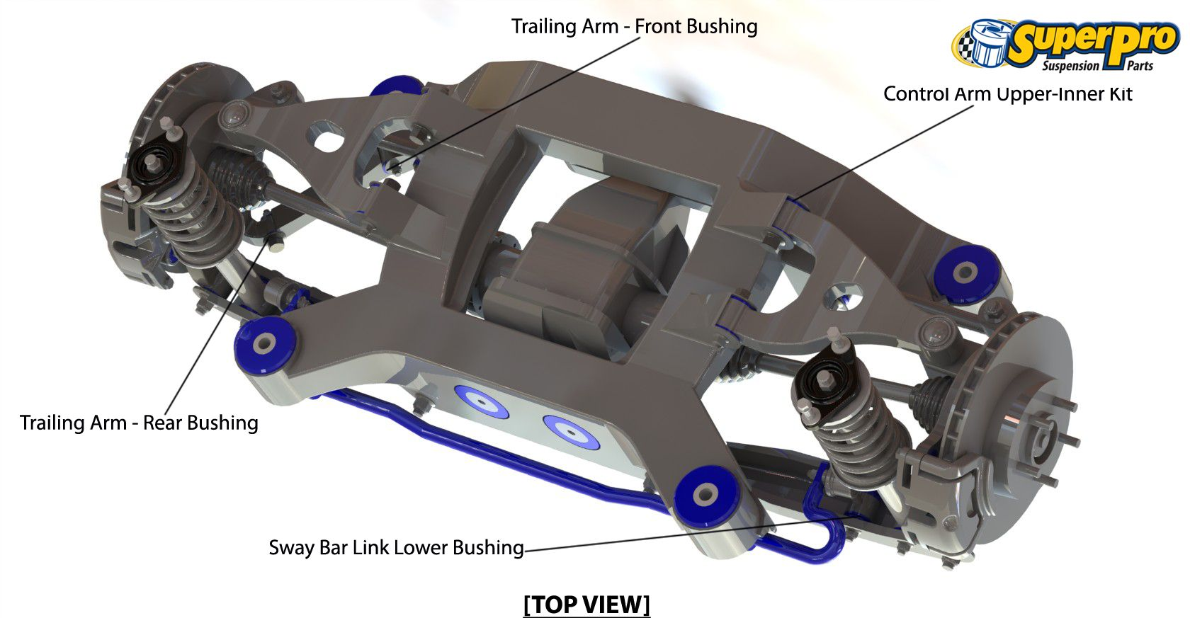 rear suspension diagram for mitsubishi pajero ns nt nw 2006 on [ 1680 x 873 Pixel ]