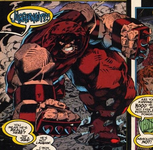 X Men Photo Juggernaut Cain Marko Comic Villains Juggernaut Marvel X Men
