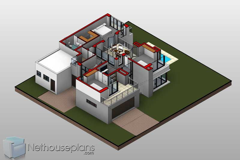 House Design Double Storey House Plans With Photos Nethouseplansnethouseplans Double Storey House Contemporary House Plans Modern Contemporary House Plans