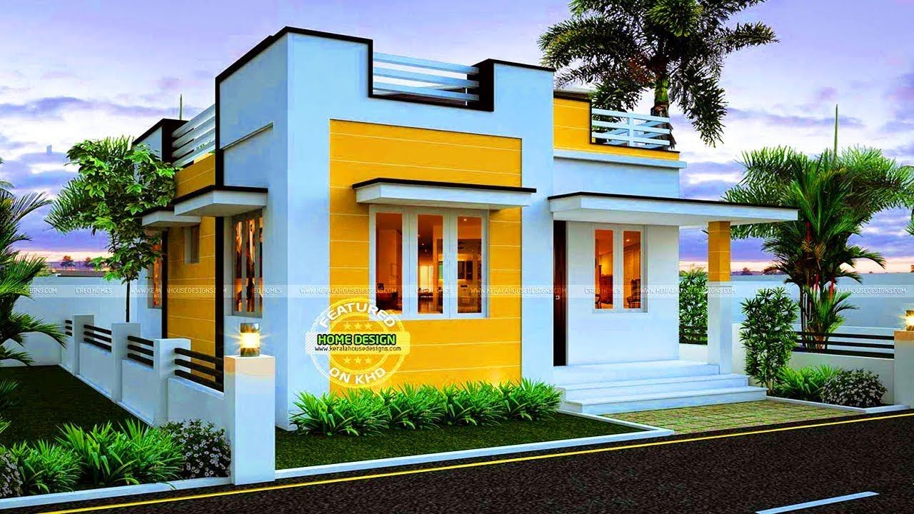 Absolutely Beautiful 35 Small And Simple But Beautiful House With Roof Deck Kerala Thiết Kế Nha Biệt Thự