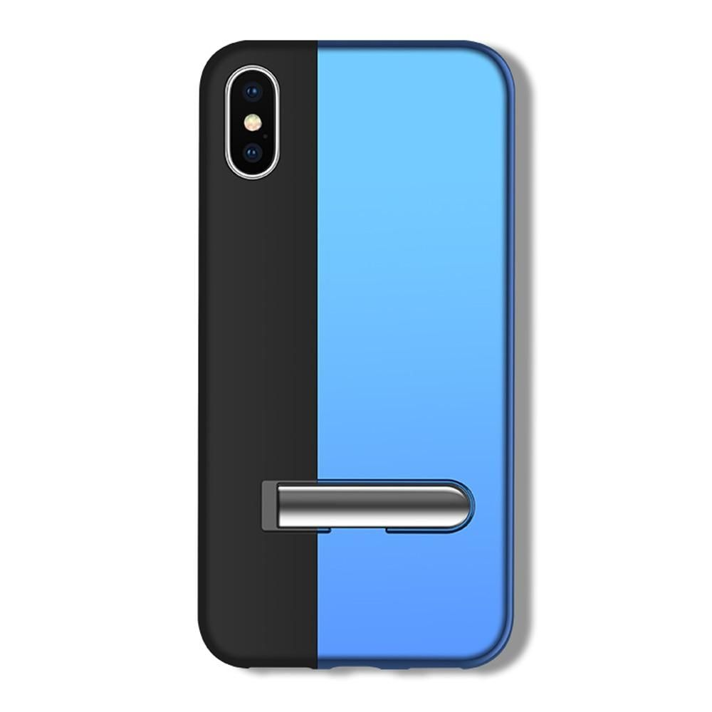 Adsorption cute phone case splice color for