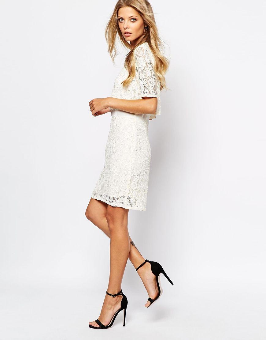Bild 4 von Vila – Kleid mit Spitze   hochzeiten - kleider unter 500 ...