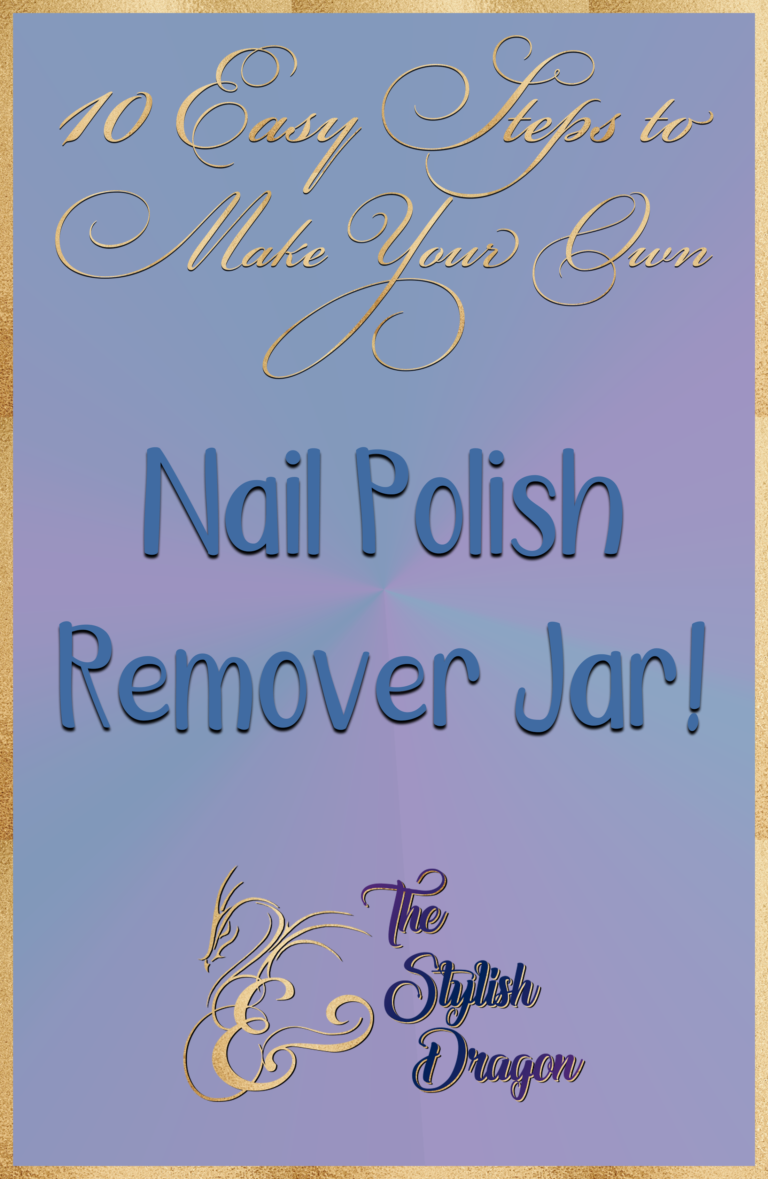 10 Easy Steps to Make Your Own Nail Polish Remover Jar | Beauty nails