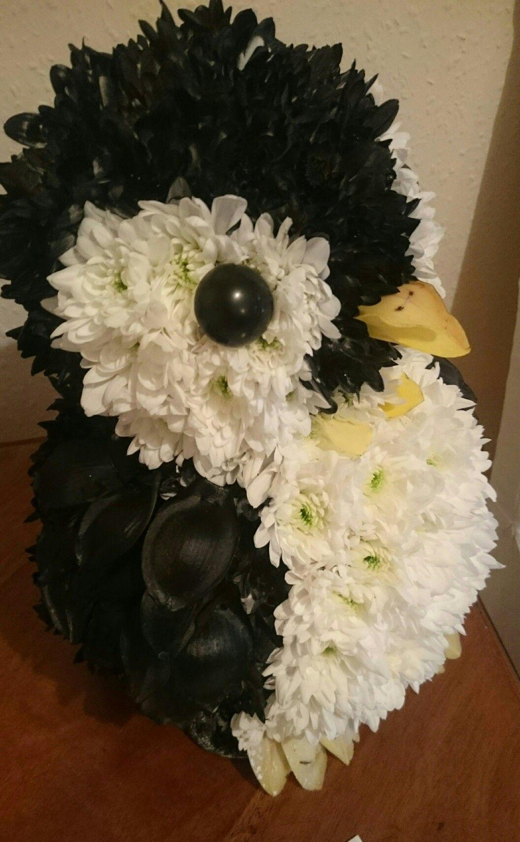 Penguin Funeral Flowers Pinterest Funeral Flowers