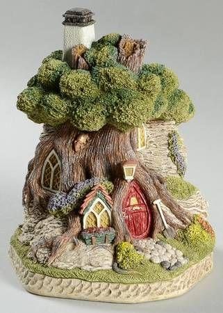 David Winter Winter Chronicles Mouse House Boxed Fairy Garden Designs Fairy Garden Houses Fairy Houses