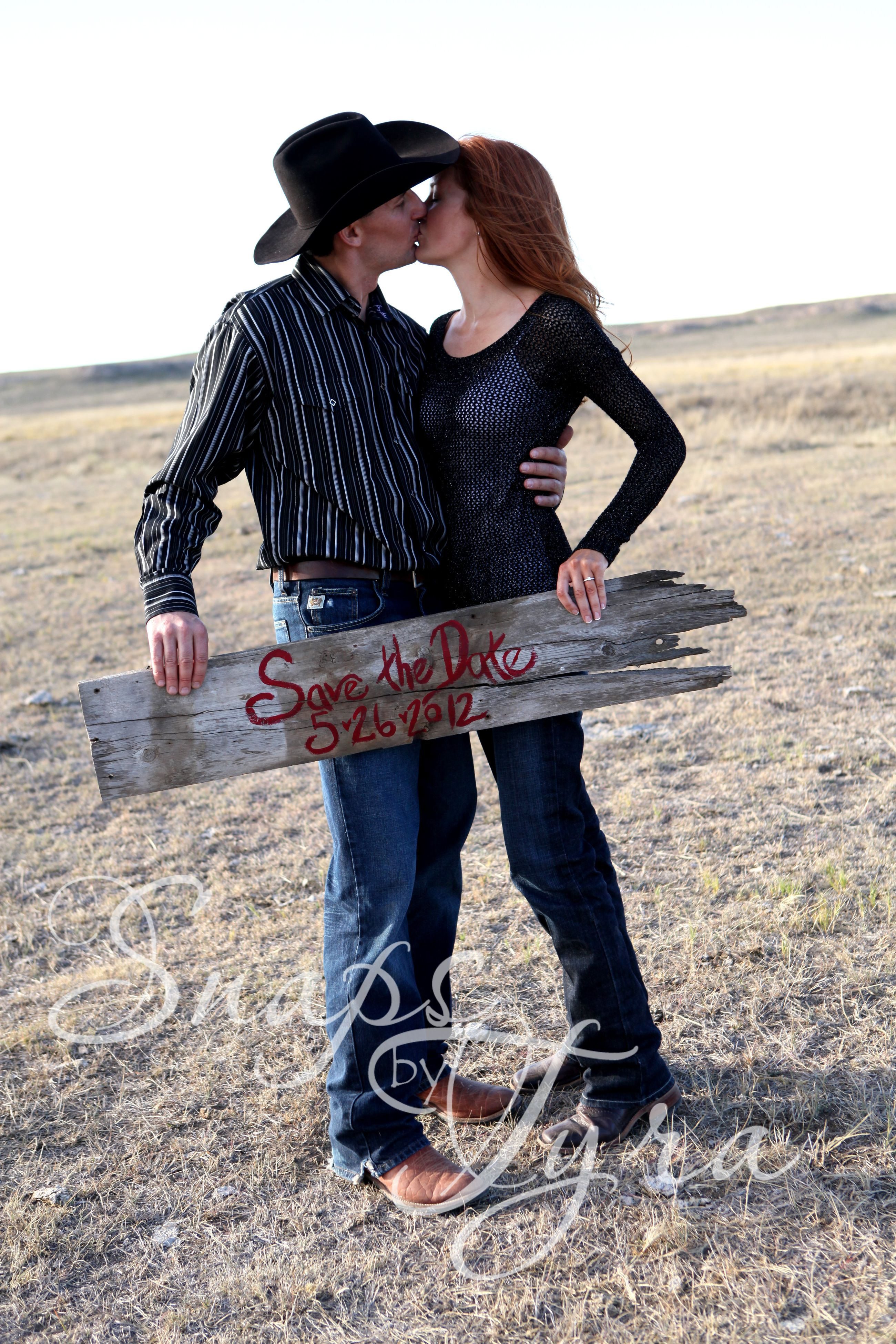 Aw Cute Cowboy And Cowgirl Photo