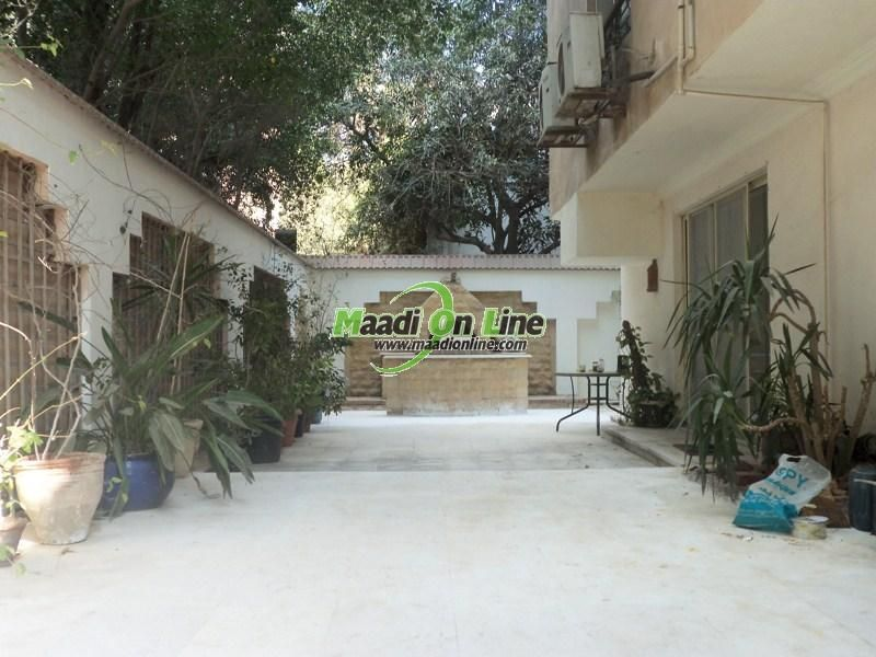 Ground floor apartment in a very wonderful Sariaat Maadi for rent. Real Estate Egypt, Cairo, Maadi, Sarayat  Maadi, Super Lux, Furnished,SemiFurnished Apartments for Rent, Divided into 4 BedroomsNo,4 Bathrooms  Flooring :Hard wood ()www.maadionline.com