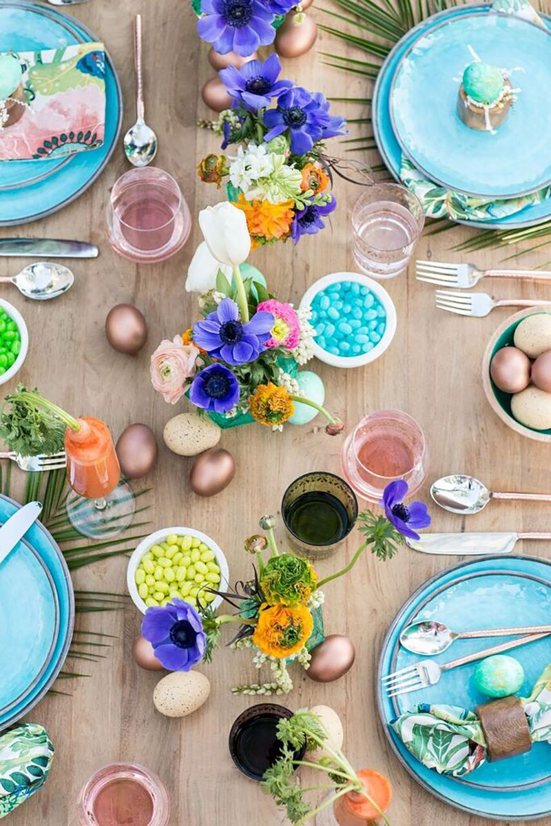 Love This Tray Styling Idea For Easter H For Holy I Like E For Easter Spring Easter Decor Spring Decor Spring Home Decor