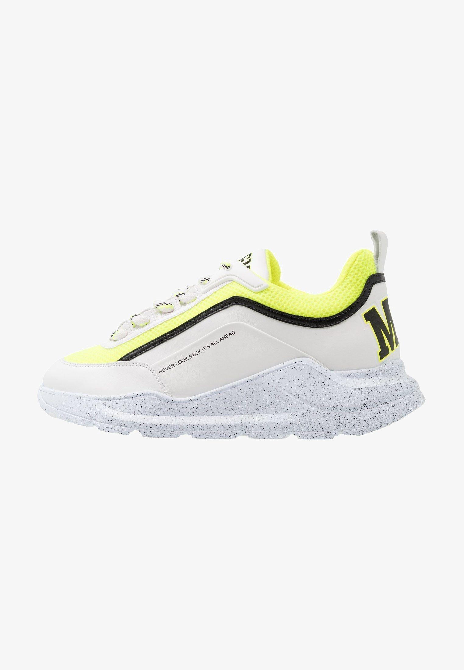 RUNNING - Zapatillas - white/fluo yellow @ Zalando.es ...