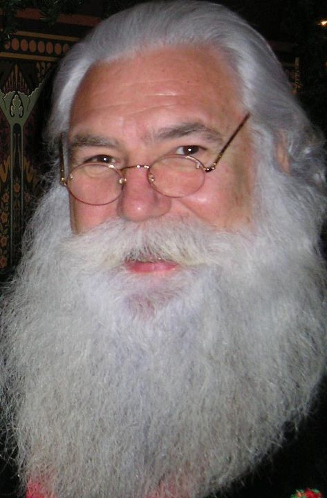 Real Bearded Santa Claus. The Hair Line Is Great. I Need