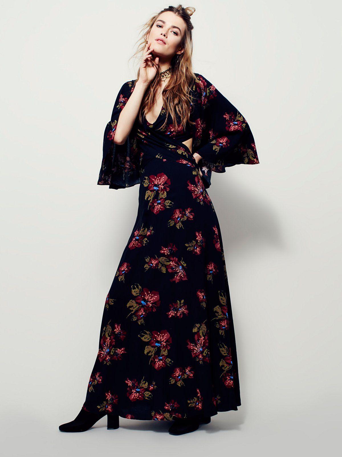 40bf89902b Hester Printed Maxi Dress
