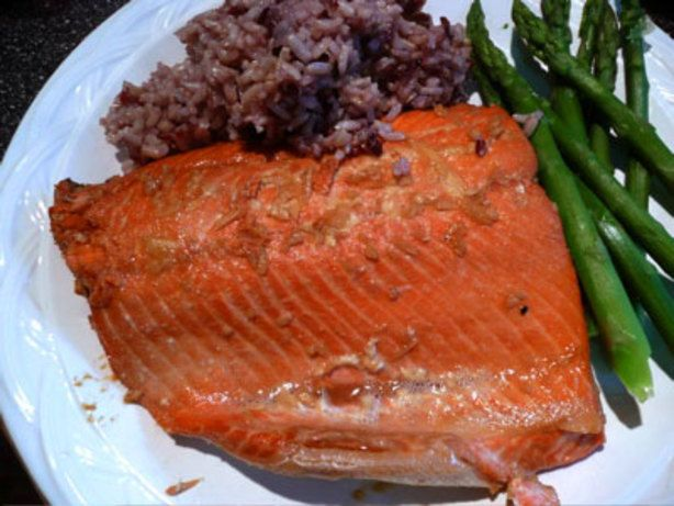 Make and share this Orange Teriyaki Salmon recipe from Food.com.