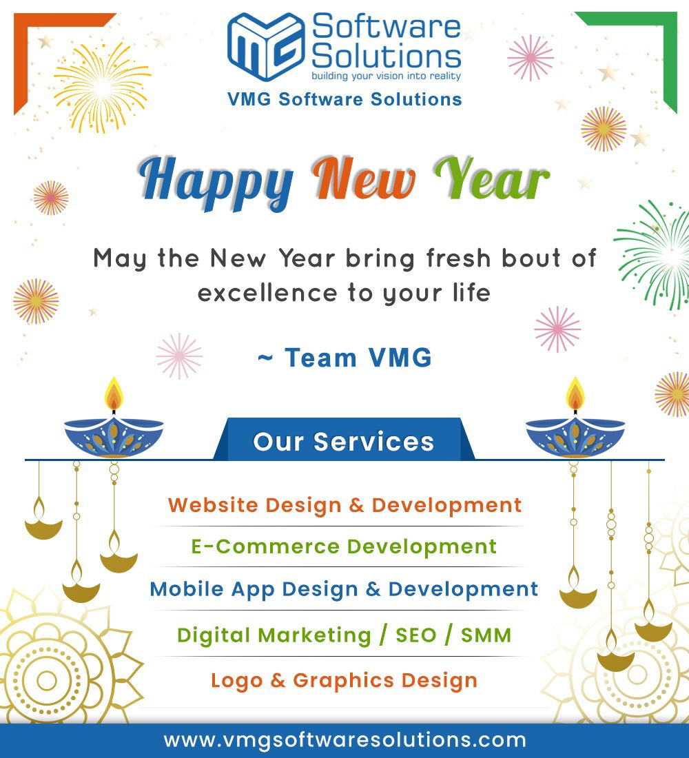 Let S Welcome This New Year With Smiles On Your Faces And Hopes In Your Heart For The Best Celebrate Th Website Design Responsive Website Design App Design