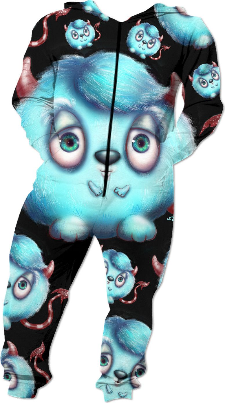 Check out my new Creepy Cute Monsters in Blue onesies https://www.rageon.com/products/fluffy-blue-monsters on RageOn!