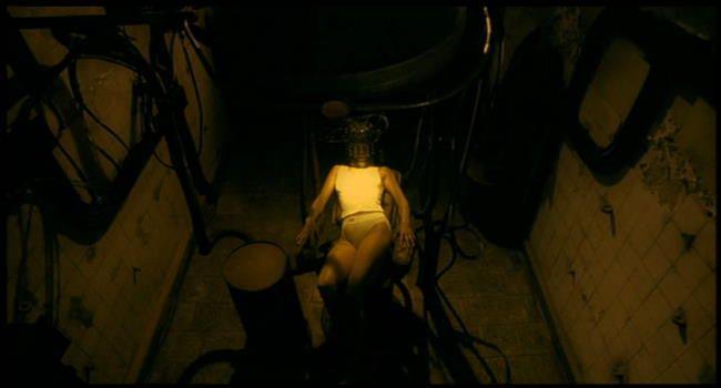 Ash (played by) Malgorzata Foremniak (in) Avalon (2001) directed by Mamoru Oshii