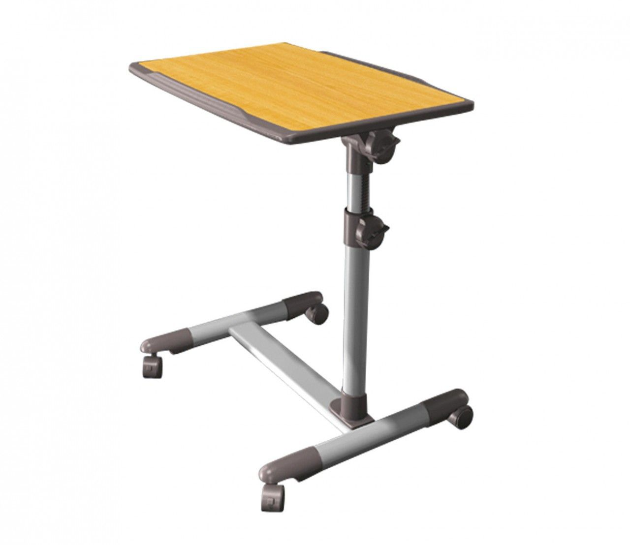 Laptop Table An ergonomically designed height and angle