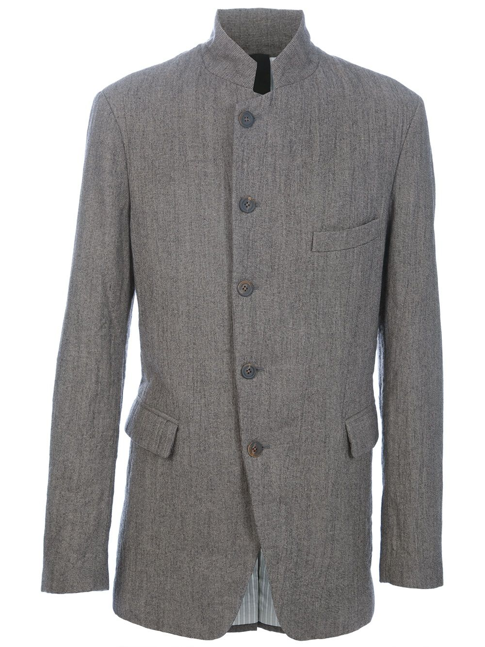 Grey wool Nehru Jacket in 2019 | Nehru jacket for men