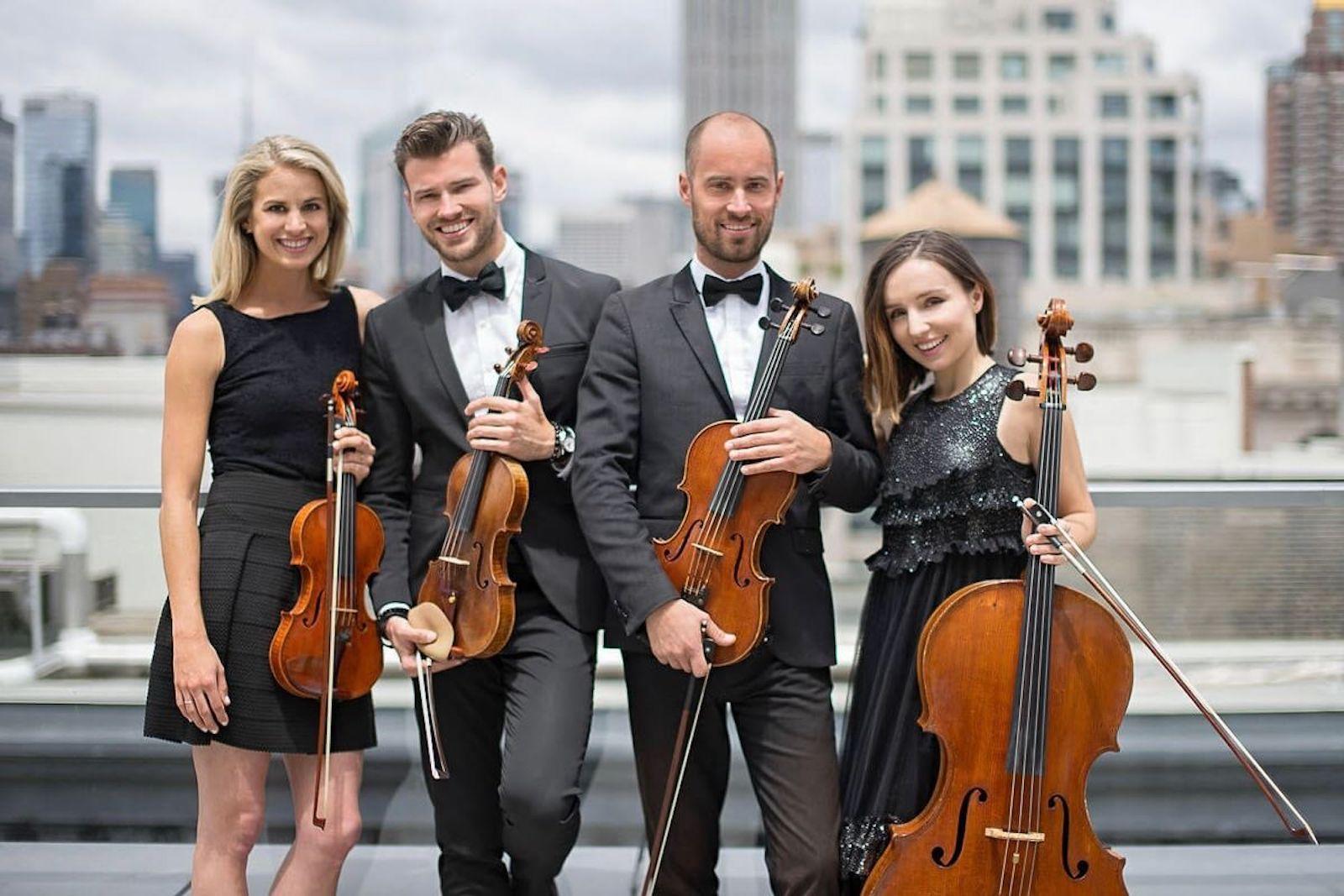 10++ String quartet wedding march information