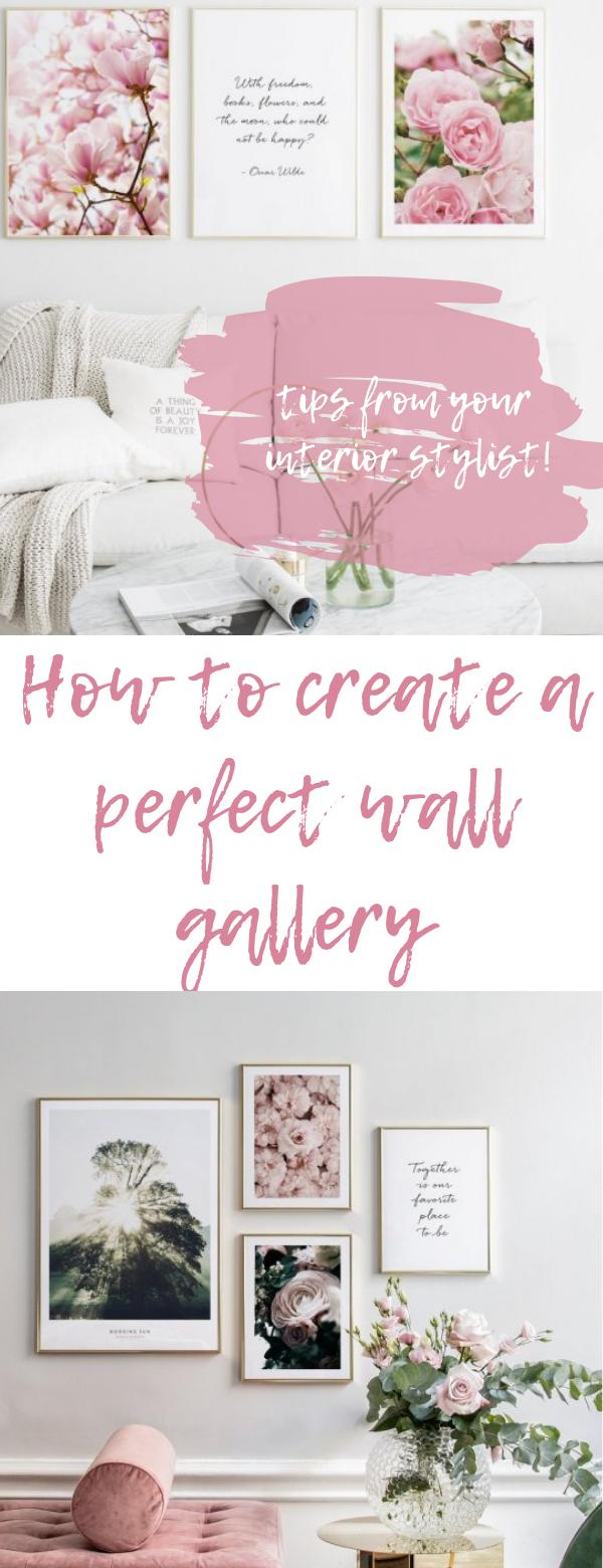Come Creare Il Viola hot trend: come creare una gallery wall | hot, cornici