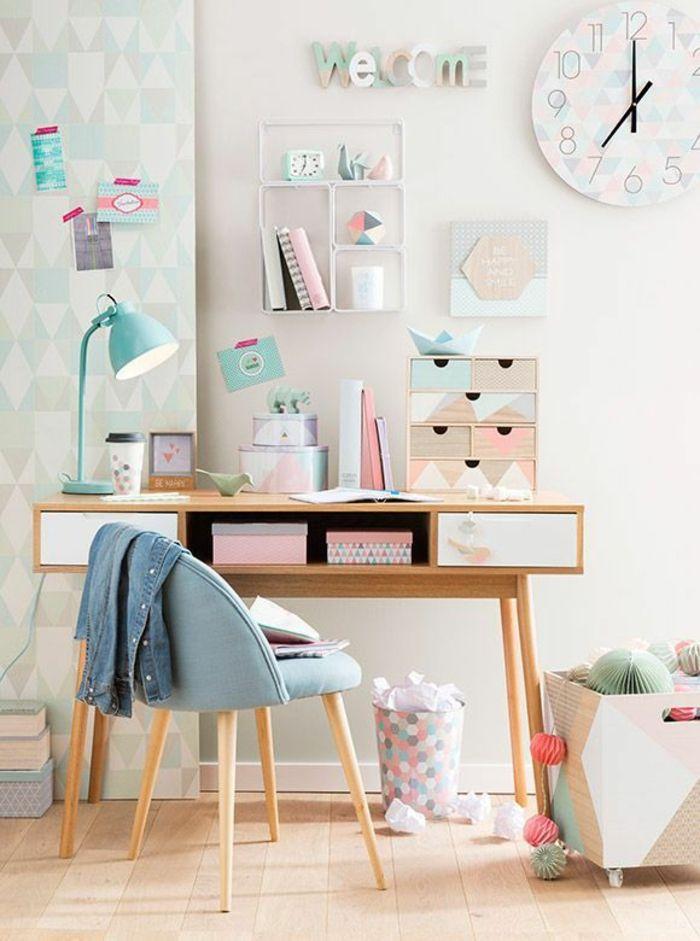 Idées déco pour une chambre ado fille design et moderne Pinterest