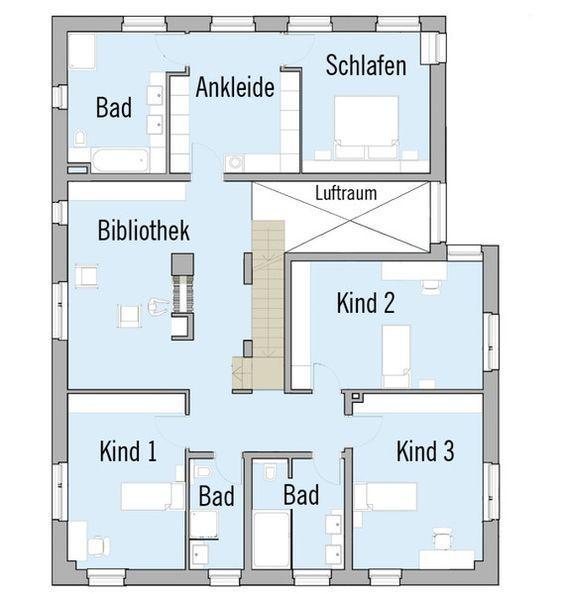 Modernes Fertighaus von Baufritz Haus Kieffer