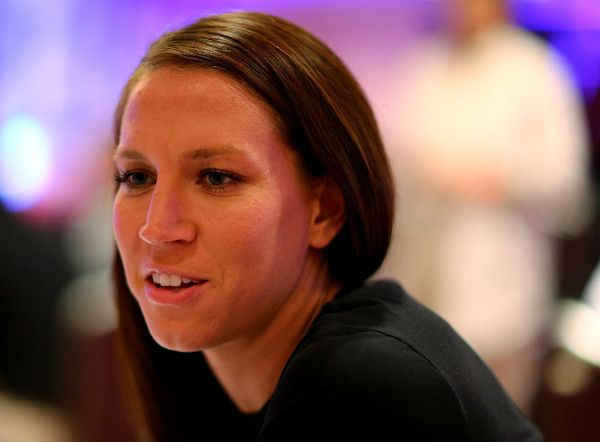 Lauren Holiday, media day, May 27, 2015, New York City. (Elsa/Getty Images North America)