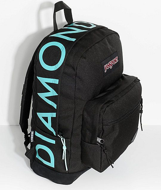 3a34b2fba4 JanSport x Diamond Supply Co. Right Pack 31L Black Backpack in 2019 ...