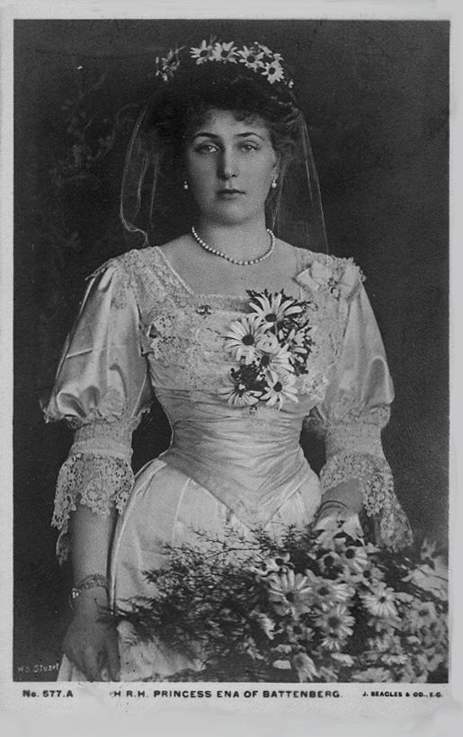 Dressed As A Bridesmaid At A 1905 Wedding Victoria Eugenie Of