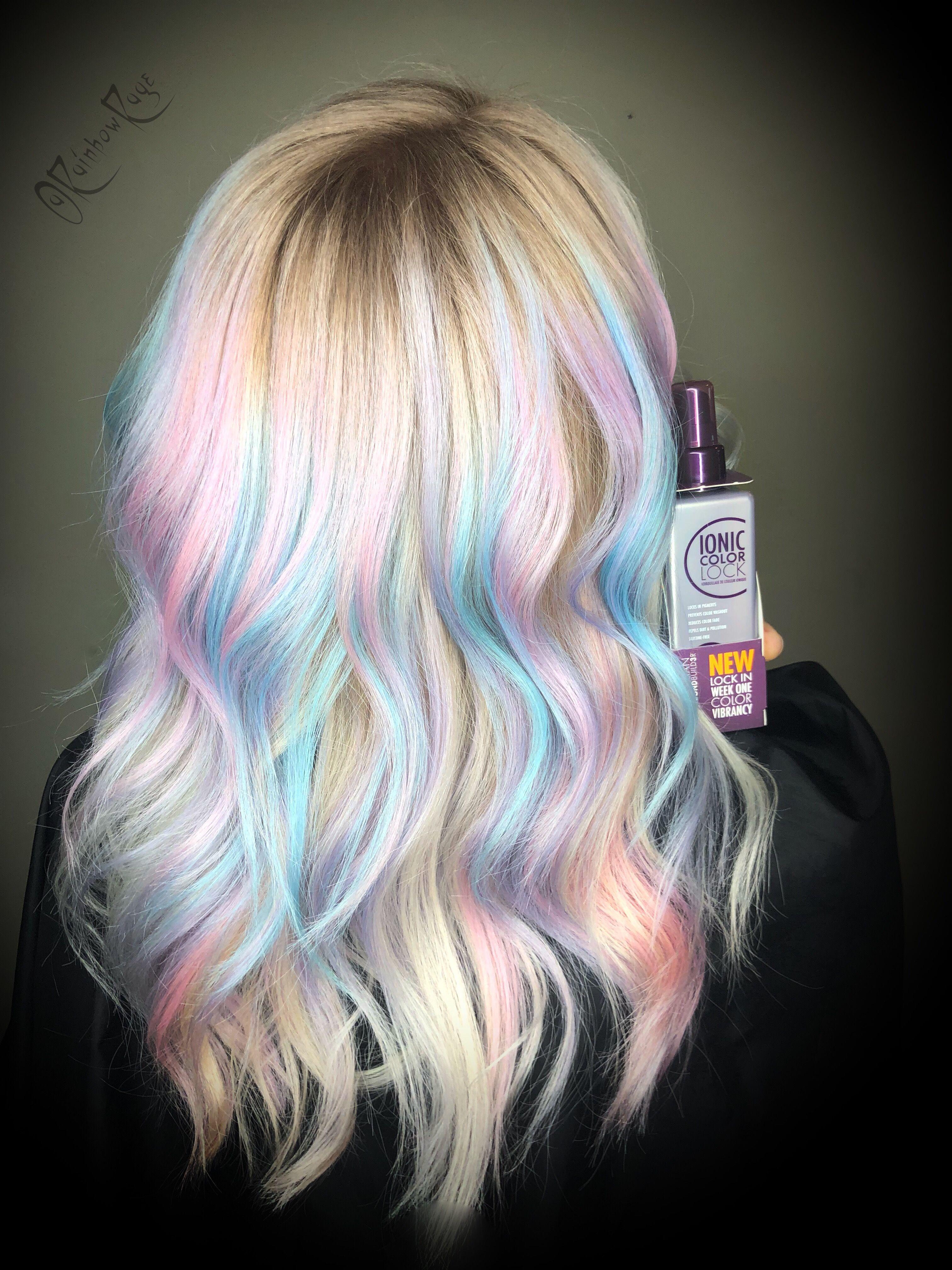 Pastel Hair Pastel Rainbow Hair Hair Color Pastel Hair Styles