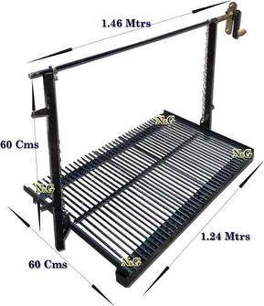 Parrilla enlozada para amurar 1 05 x 0 60 mtrs fabrica en mercado libre patio - Parrilla para amurar ...