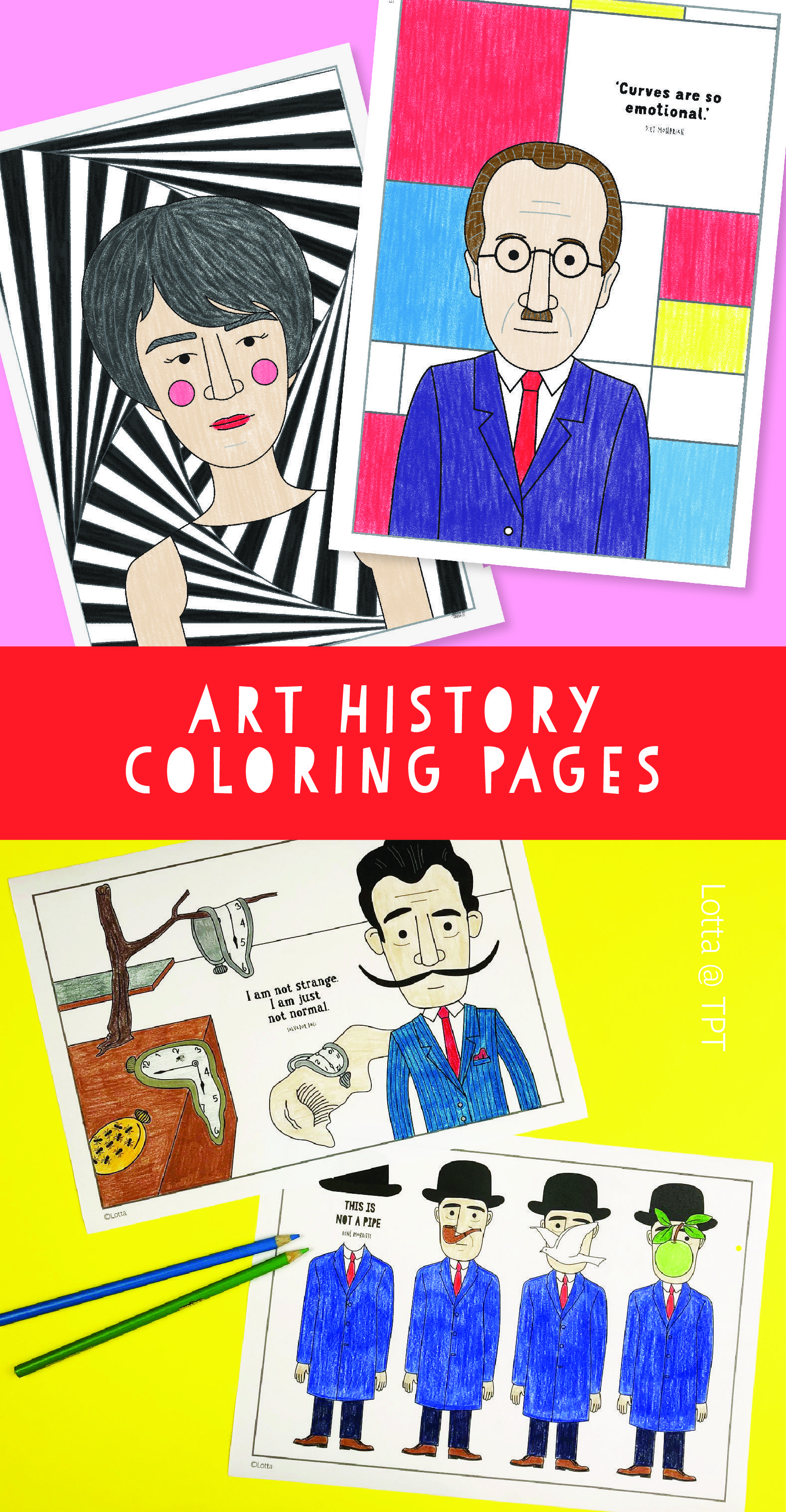 art history coloring pages for kids in 2020  art history