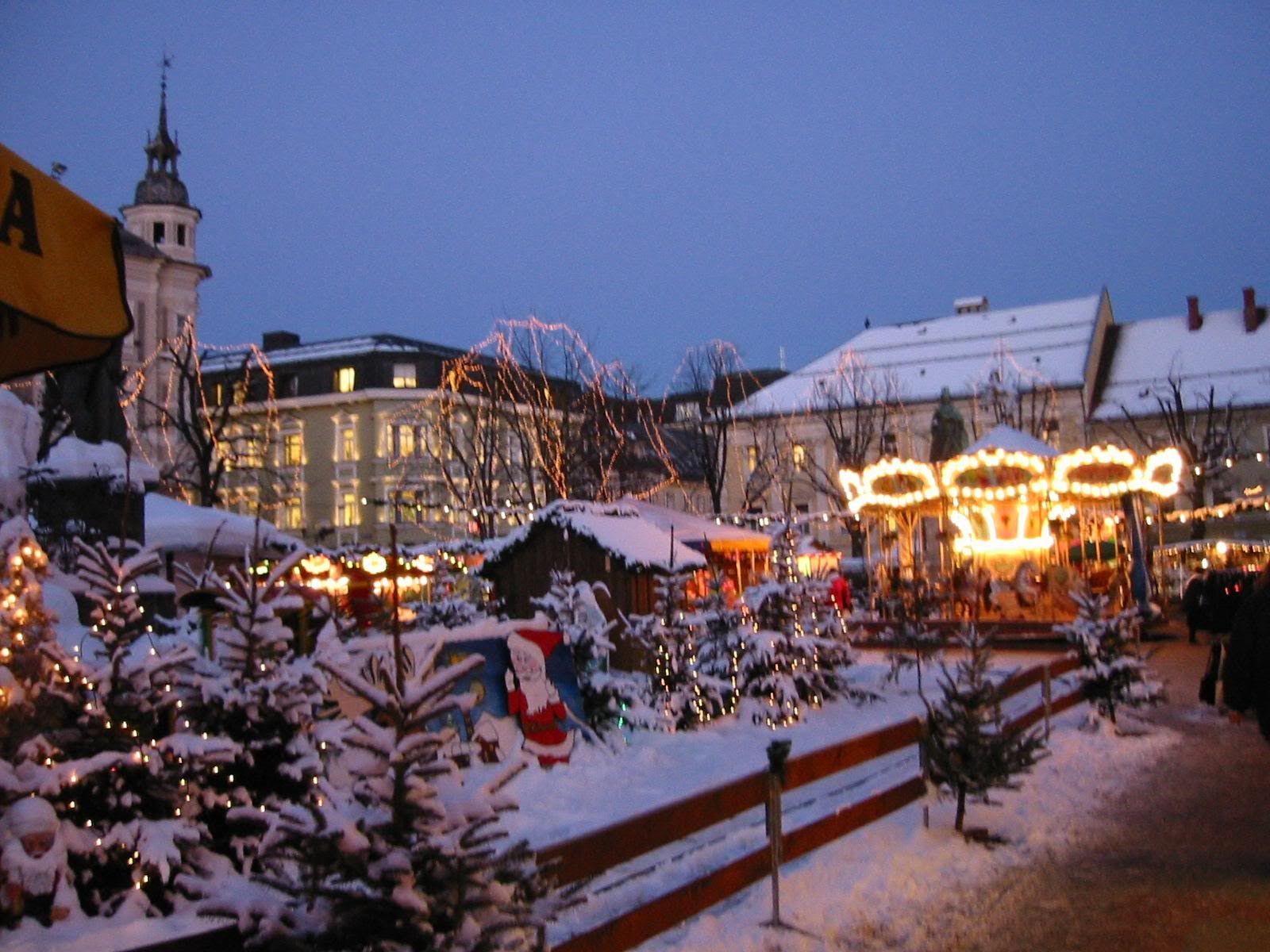 Klagenfurt Christmas Austria Travel Europe Europa Adventures